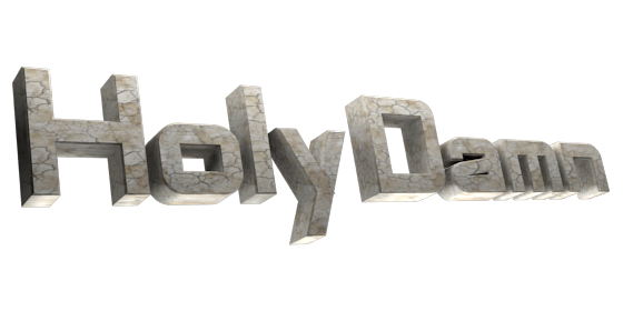 3D Text Maker - Free Online Graphic Design - Holy Damn