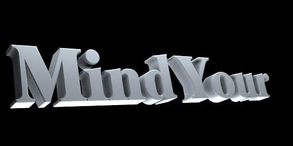 Make 3D Text Logo - Free Image Editor Online - Mind Your