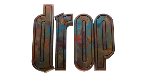 Make 3D Text Logo - Free Image Editor Online - Drop