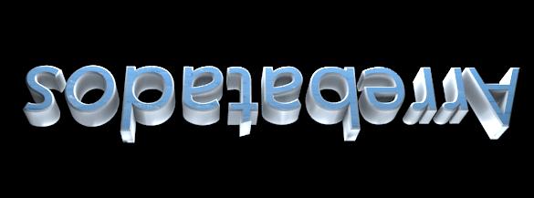3D Text Maker - Free Online Graphic Design - Arrebatados