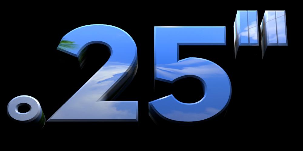 "3D Logo Maker - Free Image Editor - .25"""