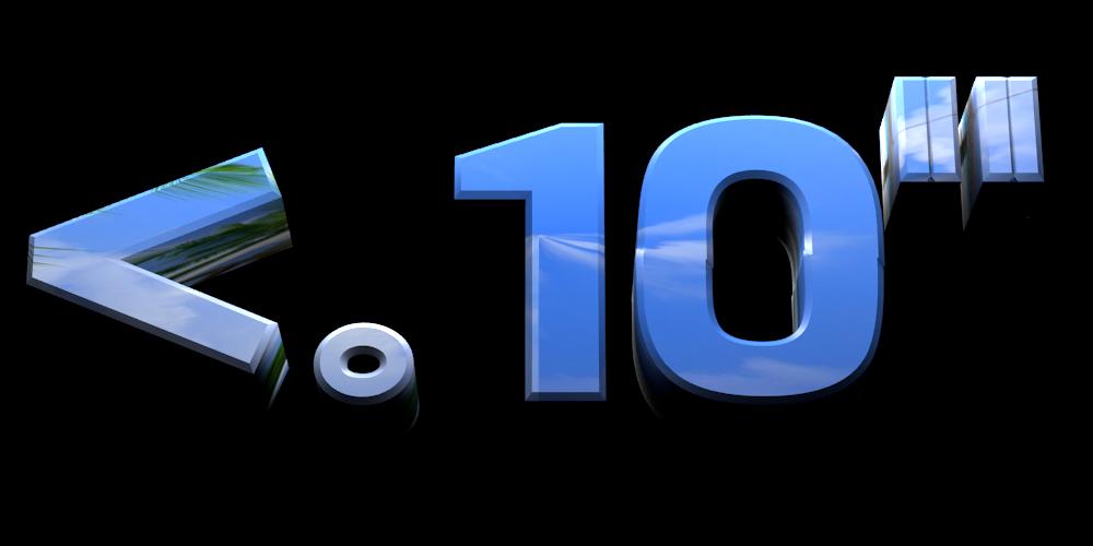 "Make 3D Text Logo - Free Image Editor Online - <.10"""