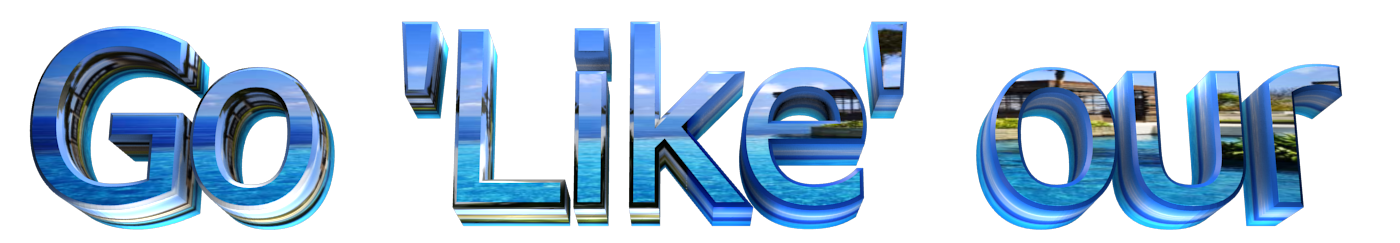 Make 3D Text Logo - Free Image Editor Online - Go 'Like' our