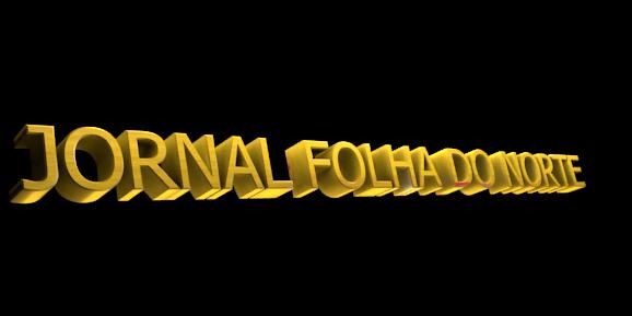 Make 3D Text Logo - Free Image Editor Online - JORNAL FOLHA DO NORTE